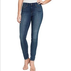 Jessica Simpson high rise skinny jeans 14/32 blue